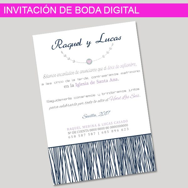 Invitación digital Aubrey
