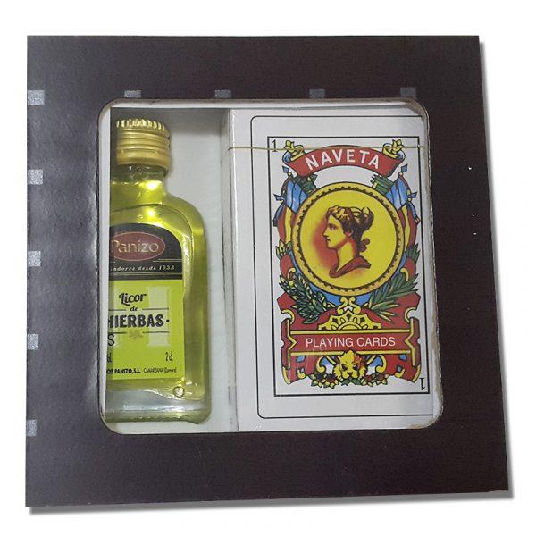 Set licor y naipes