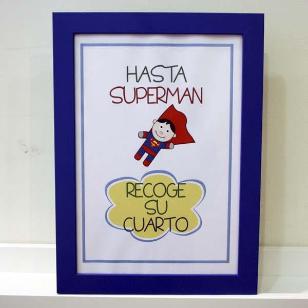 Lámina infantil supernormas Superman