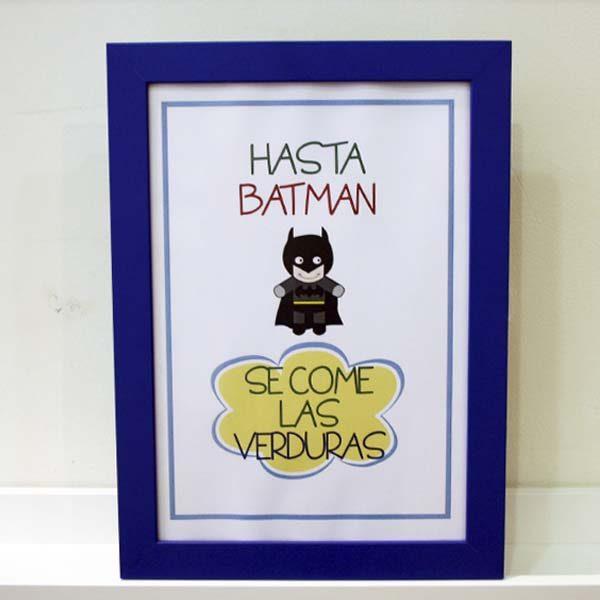 Lámina infantil supernormas Batman